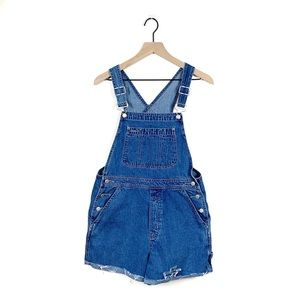 Gap | Vintage Denim Cut Off Short Overalls